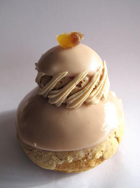Pâtisserie Des Gâteaux et du Pain - Religieuse châtaigne miel d'arbousier