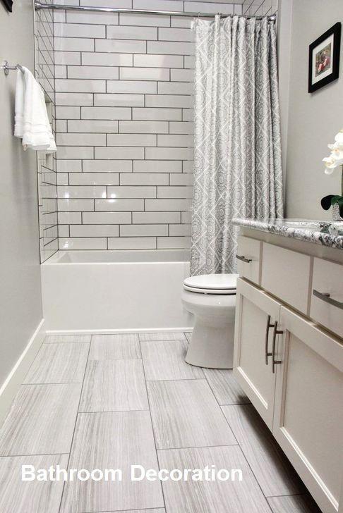 Bathroom Design Ideas On A Budget In 2020 Budget Bathroom Remodel Vinyl Flooring Bathroom Gray Tile Bathroom Floor