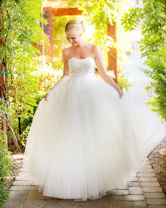 Vestidos de Noiva - Princesa