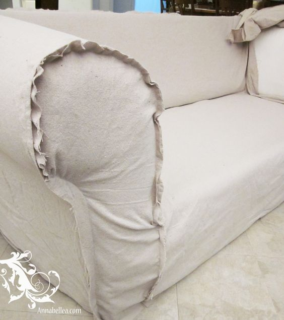 Drop Cloth Slipcover - Sew What ???