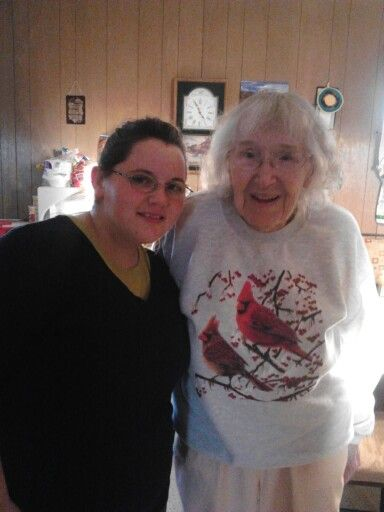 Me and my great aunt