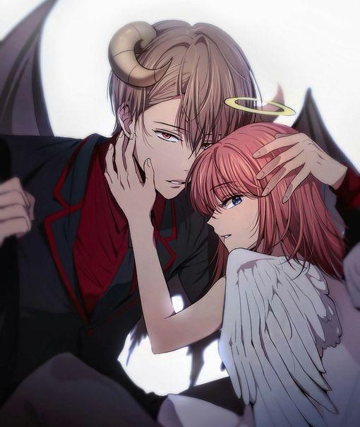 любовные аниме картинки