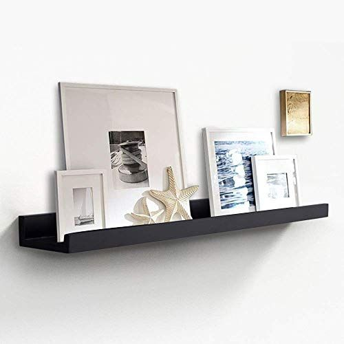 Best Seller Zgzd Picture Ledge Wall Organizer Shelf Display Floating Shelves Home Kitchen Office 4 Inch Deep 36 Inch Black Online In 2020 Floating Shelves Life Size Cardboard Cutouts Display Shelves