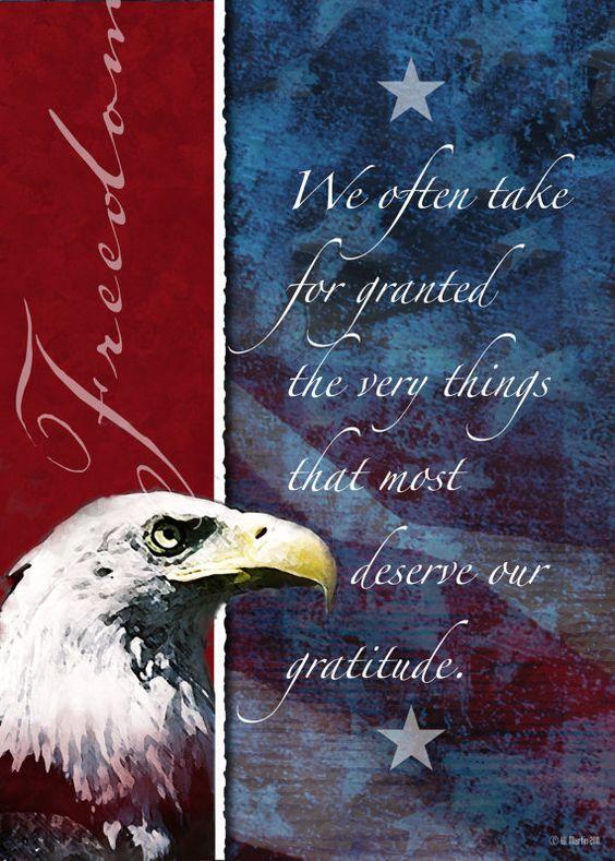 Freedom Patriotic Poster Patriotic America United by WiMDesigns, $18.00