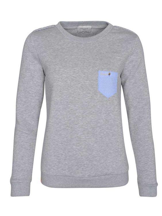 Dada Sport | Sweater PISCOU in Grau