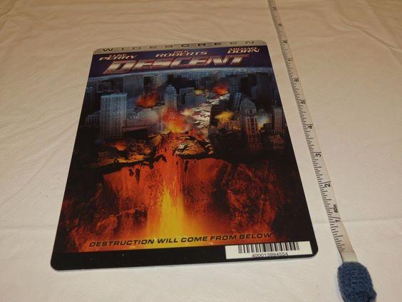 Descent Luke Perry RARE movie mini POSTER collector backer card 8 x 5.5 Plastic