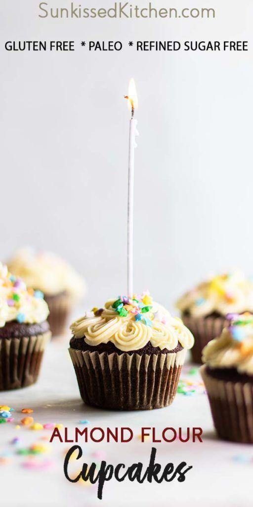 Gluten Free Chocolate Cupcakes A Healthier Almond Flour Cupcake