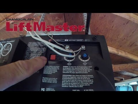 How To Program A Liftmaster Universal Garage Door Remote Model 375 Ut Youtube Universal Garage Door Remote Liftmaster Garage Door Remote