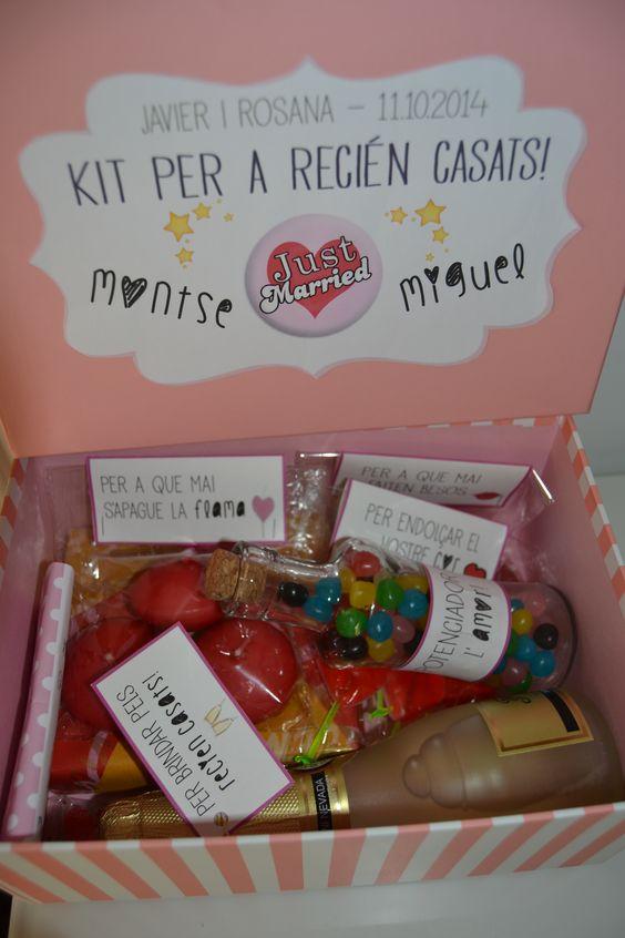 Kit DIY para recien casados