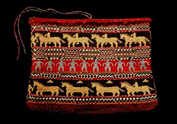 Mesquakie yarn bag  NMAI  ac