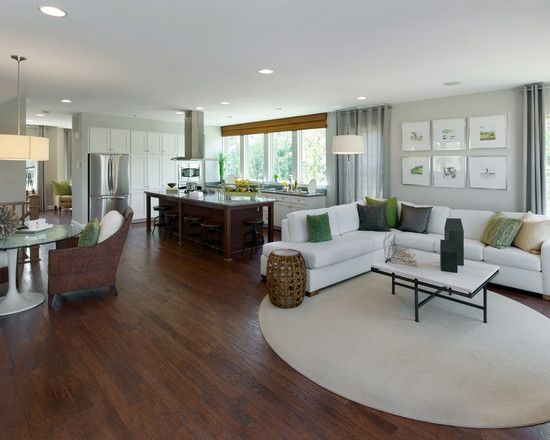 View In Gallery Open Floor Plan Organized With Shleving Units
