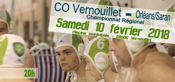 Match water-polo régional : CO Vernouillet - Orléans/Saran