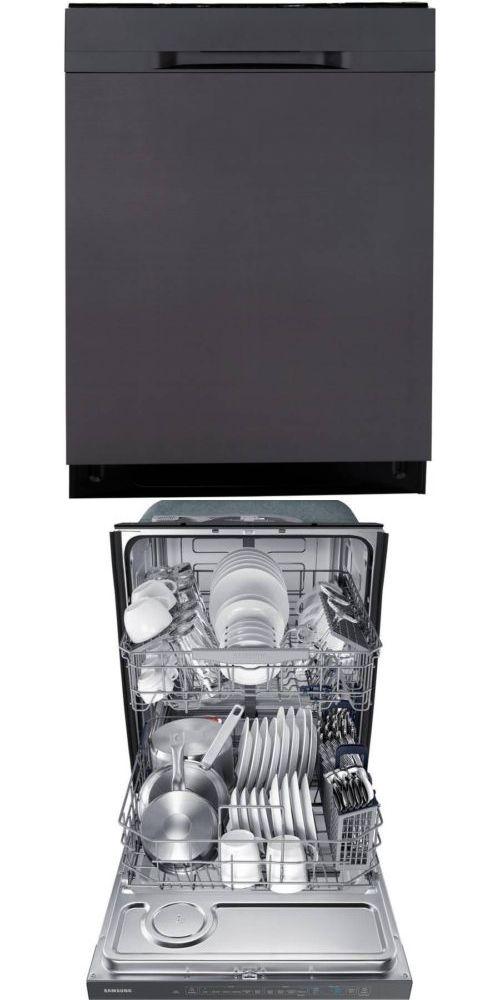 Dishwashers 116023 New Samsung Black Stainless Dishwasher Storm