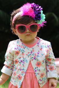 Había una vez una foto de Vicky con lentes. #Fotografía #Niña #Lentes #Moda #SesiónFotografica