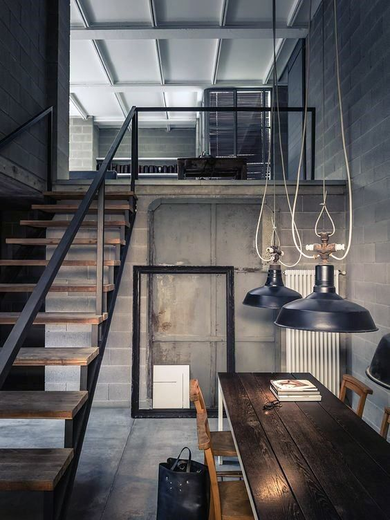 Top 50 Best Industrial Interior Design Ideas Raw Decor Inspiration Industrial Interior Design Modern House Design Loft Design