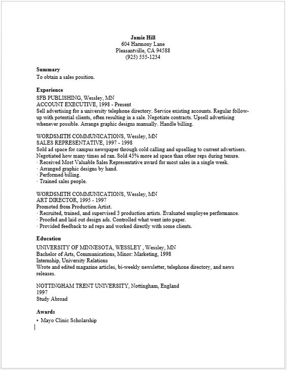 Sales Officer Resume resume sample Pinterest - police officer resume objective