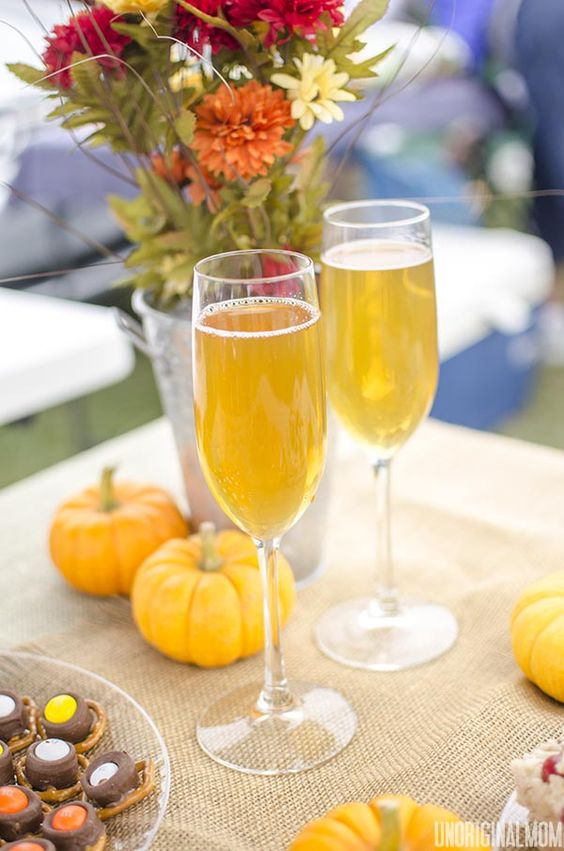 Spiked Sparkling Cider - mulled cider mixed with champagne, the ...