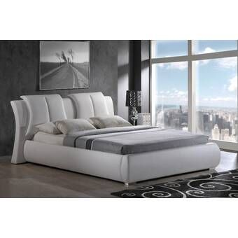 Alma Upholstered Platform Bed Upholstered Platform Bed Global