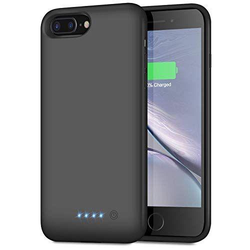Trswyop Akku Hulle Fur Iphone 6 Plus 6s Plus 7 Plus 8 Plus 8500mah Hohe Kapazitat Zusatzakku Handyhulle Power Bank Battery Case In 2020 Iphone 7 Plus Iphone Iphone 6