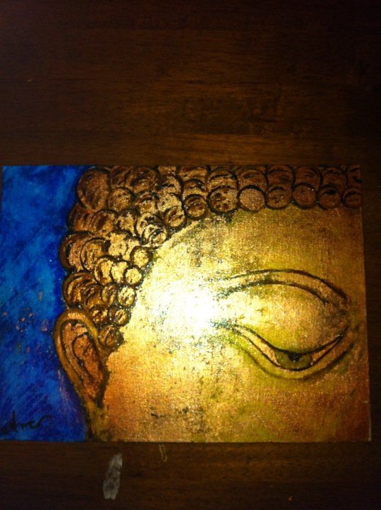 Budha's Eye, painted for a friend.