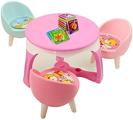 Klsjj Learning Activity Table Baby Play Table Toy Baby Table Infant Activity Table Kid Dining Table Kid De In 2020 Kids Study Table Study Table And Chair Toddler Table