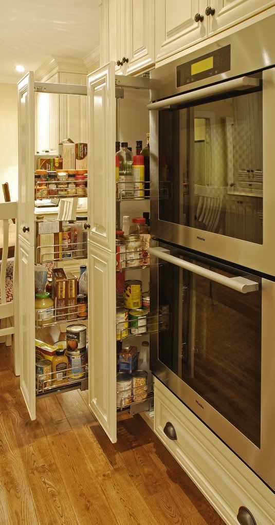 pull out pantry, these are awesome
