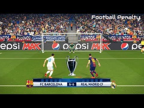 Barcelona Vs Real Madrid Uefa Champions League Final Penalty Shootou Champions League Real Madrid Uefa Champions League