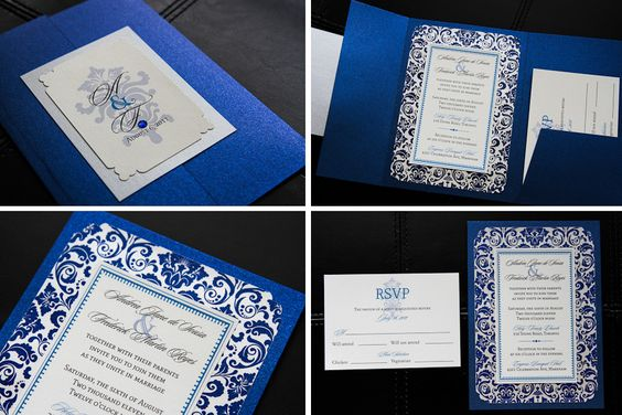 Upscale Wedding Invitations | Wedding Invitations @ Empress Paper CraftsEmpress Paper Crafts