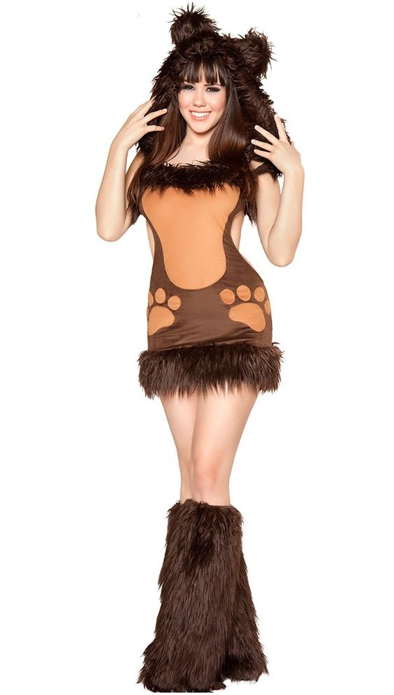 Pinterest | Bear Costume, Costumes For Halloween and Sexy Women