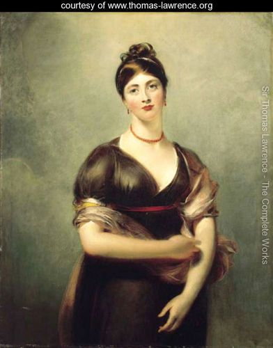 Portrait of Elizabeth Jennings, later Mrs William Lock - Sir Thomas Lawrence - www.thomas-lawrence.org