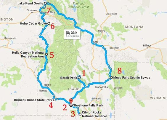 This Natural Wonders Road Trip Will Show You Idaho Like You Ve Never Seen It Before Idaho Road Trip Natural Wonders