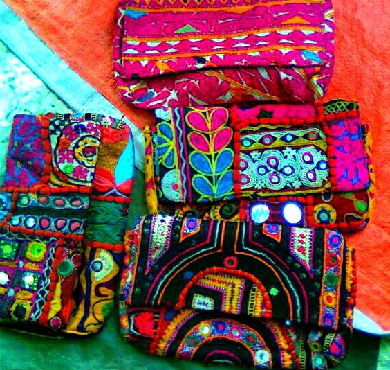 """Purses""  Kutch Embroidery"