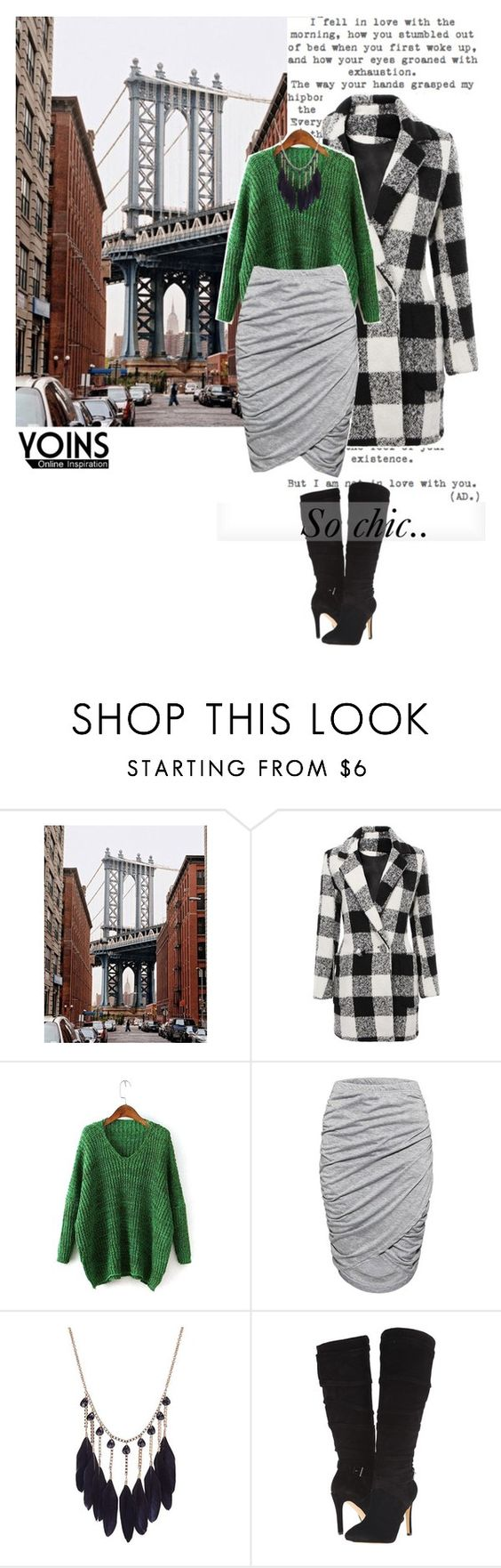 """Yoins 4/10"" by nejra-e ❤ liked on Polyvore featuring Twenty and GUESS"