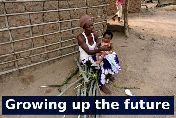 Growing up the future  (Akwatiakwaso Village, eastern region - Ghana)