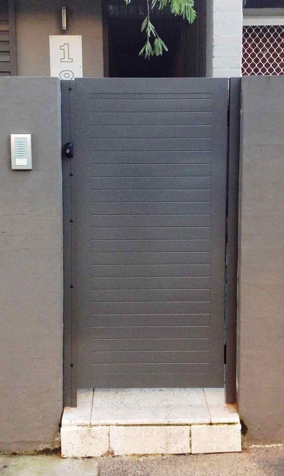 kings security doors aluminium slat gates  u0026 fencing