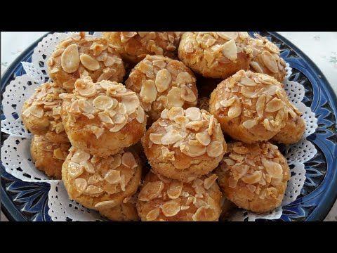 حلوى تذوب في الفم بالزبيب واللوز ايفيلي بمكونات بسيطة ومذاق رائع حلويات عيد الأضحى Youtube Food Breakfast Muffin