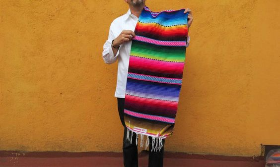 Sarape Mexicain Luxe 3