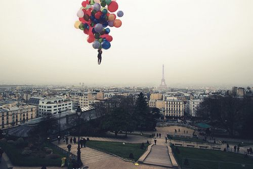 : ) #Paris #ballons