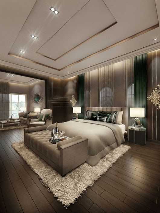 Ten La Decoracion De Dormitorio Mas Increible Y Lujosa Con Estas Ideas De Diseno De Luxury Bedroom Master Amazing Bedroom Designs Luxury Master Bedroom Design
