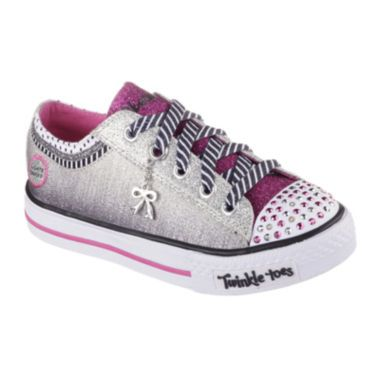 Skechers® Shuffles Charmingly Girls Sneakers - Little Kids  found at @JCPenney