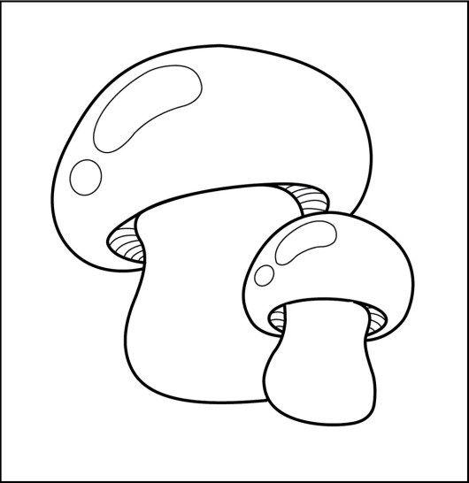 Mushrooms Coloring Sheet For Kids Coloring Sheets For Kids Coloring Sheets Mermaid Coloring Pages