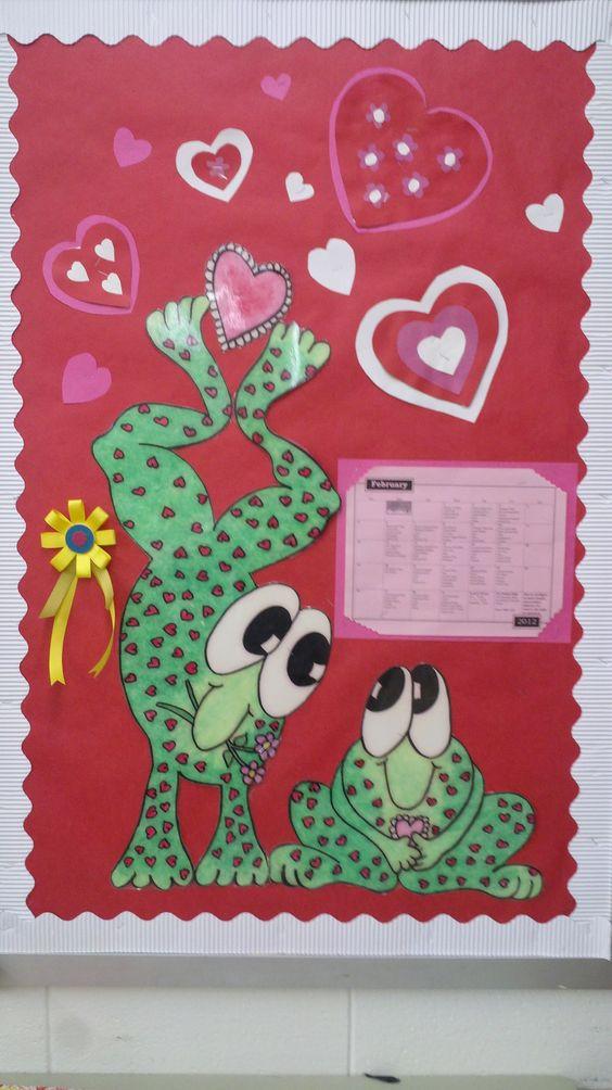 Salon De Clases Decorado De San Valentin ~ Hoppy Valentine s