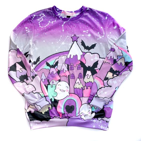 Gothic Fairytale Sweater L Roxie Sweetheart