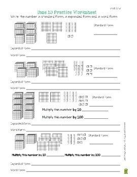 4 Nbt 1 4 Nbt 2 Worksheets Place Value Understanding In 2020 Place Values Worksheets 4th Grade Math Worksheets
