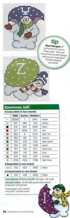 SNOWMAN/UMBRELLA <3