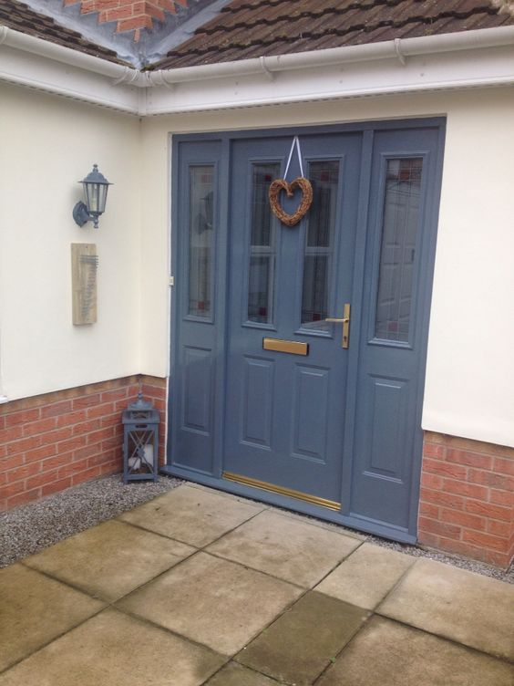Painted my front door with sandtex exterior satin used - Sandtex exterior paint ideas ...