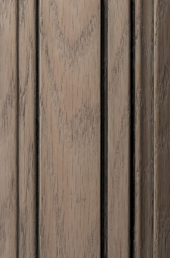 Oak Cabinets With A Light Gray Stain Brings Out The
