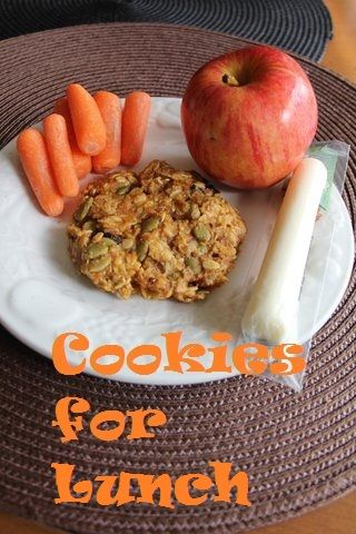 ***Grain Crazy: Think Outside the (Lunch)box: Oatmeal Cookies for Lunch