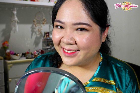 Full Face Makeup dengan menggunakan BB Cream Fanbo + Fanbo Two Way Cake