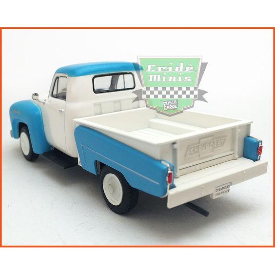 Chevrolet 3100 Picape 1958 - Caixa de acrílico - escala 1/43